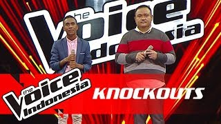 Ronald vs Robin   Knockouts   The Voice Indonesia GTV 2018