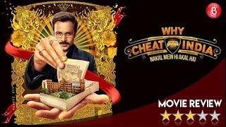 Why Cheat India Movie Review | Emraan Hashmi , Shreya Dhanwanthary