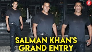 Salman Khan GRAND Entry At Ramesh Taurani's Birthday Bash