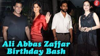 Ali Abbas Zafars GRAND Birthday Bash | Salman Khan , Katrina Kaif