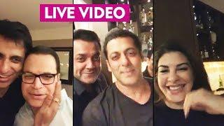 Salman Khan Party LIVE VIDEO   Full Night Party   Ramesh Taurani Birthday   Bobby Deol, Jacquelien