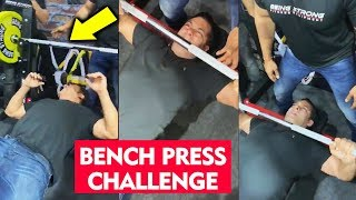 Salman Khan 60 Bench Press In Less Than 1 Minute | Amazing Stamina | Being Strong