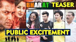 BHARAT Teaser | PUBLIC EXCITEMENT | Salman Khan, Katrina Kaif, Sunil Grover, Disha Patani