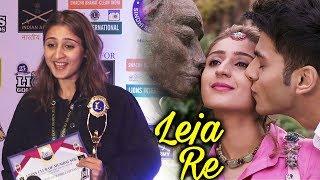 Singer Dhvani Bhanushali At Lion Gold Award 2019   Red Carpet   Leja Re, Dilbar