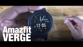 Amazfit Verge: Affordable Smartwatch With Full Circular AMOLED Screen | ETPanache