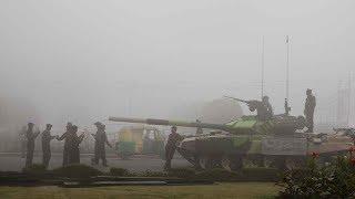 Delhi's air quality worsens, fog disrupts air and rail traffic