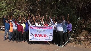 These PWD Contract Workers Haven't Received Salaries For 10 Months!