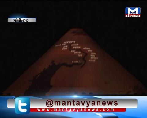 Gandhinagar:PM Modi inaugurated a 3D projection show at Dandi Kutir based on life of Mahatma Gandhi
