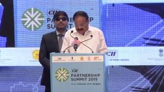 Inaugural Session of the CII Partnership Summit,2019