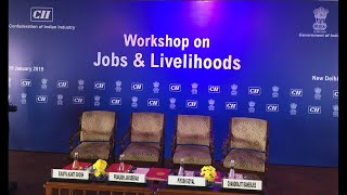 Hon'ble Minister Shri Prakash Javadekar on Jobs and livelihoods
