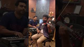 Thankathinkal kiliyay-Abhijith P S Nair feat George Varghese-Violin Cover