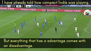 India Vs UAE Tactical analysis