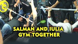 Salman Khan And Iulia Vantur Fitness Challenge | Being Strong Equipment