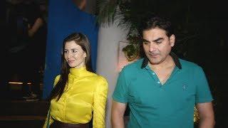 Arbaaz Khan With Girlfriend On A LATE NIGHT DINNER DATE