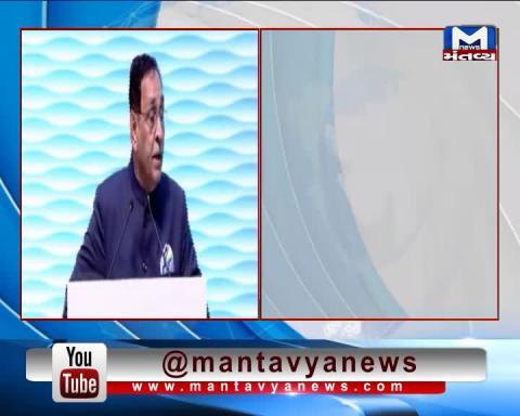 Gandhinagar: CM Vijay Rupani addresses Sprint 2022