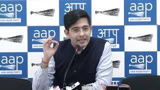 AAP National Spokesperson Raghav Chadha briefed on Delhi Electoral Rolls