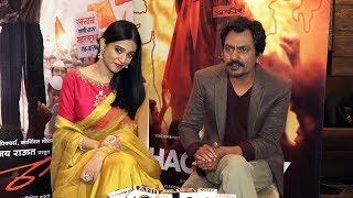 Interview Of Nawazuddin Siddiqui And Amrita Rao For Film Thackeray