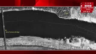 अंतरिक्ष से ऐसा दिख रहा है कुंभ मेला, ISRO ने जारी की फोटो / THE NEWS INDIA