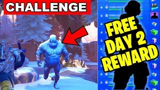 DEAL DAMAGE TO ICE LEGION - ICE STORM CHALLENGES DAY 2 FREE REWARDS IN FORTNITE