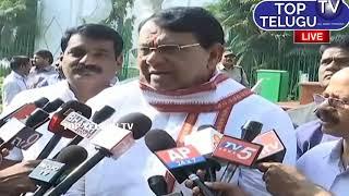 Speaker Pocharam Srinivas Press Meet Telangana Assembly 3rd Day Top Telugu TV LIVE