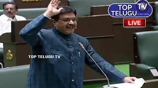 4th Day Telangana Assembly LIVE Top Telugu TV   Malakpet MLA Bin Abdul Balala Speech