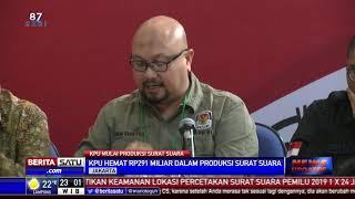 Produksi Surat Suara Pemilu 2019, KPU Hemat Rp 291