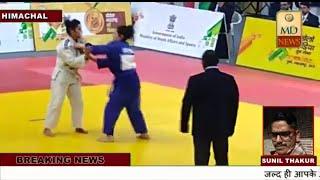 हिमाचल प्रदेश मे जुब्बल की रहने वाली पदमा ने पुणे मे खेलो इंडिया गेम्समें जूडो में जीता ब्रांज मेडल
