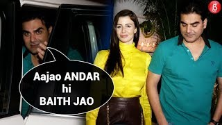 Arbaaz Khan Gets ANGRY On Paparazzi For Clicking His Girlfriend Giorgia Andriani