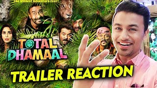 Total Dhamaal TRAILER | REACTION | REVIEW | Ajay Devgn, Anil Kapoor, Madhuri, Arshad Warsi
