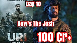 #URI Box Office Collection Day 10 In India And Overseas