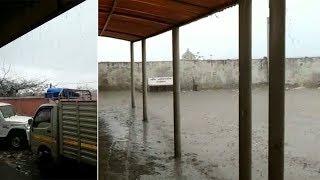 સૌરાષ્ટ્ર-કચ્છમાં શિયાળામાં પડ્યો વરસાદ, ખેડૂતોમાં ચિંતા