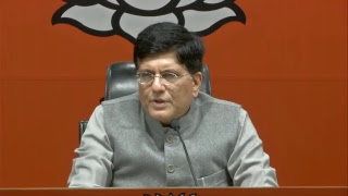 Press Conference by Shri Piyush Goyal at BJP Head Office, New Delhi