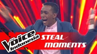 Campur Aduk! Begini Rasanya Disteal Coaches | STEAL MOMENTS | The Voice Indonesia GTV 2018