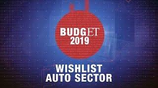 Budget 2019- Auto sector wishlist for FM Jaitley