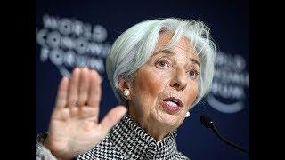 Risk of sharper global growth decline has increased- IMF's Christine Lagarde