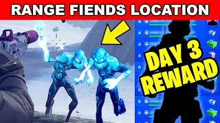 Destroy Ranged Ice Fiends LOCATION - ICE STORM CHALLENGES DAY 3 FREE REWARDS IN FORTNITE