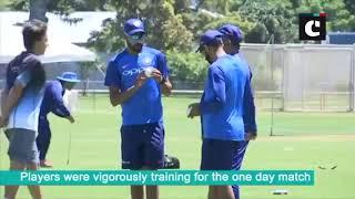 India vs New Zealand- Team India practices ahead of ODI series