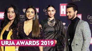 URJA Awards 2019 | Manisha Koirala Aayush Sharma Aditi Rao Hydari