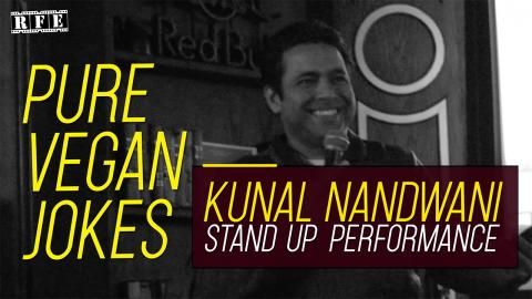 Pure Vegan Jokes - Kunal Nandwani Stand-Up Comedy 2019 | RFE