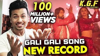 KGF Song Gali Gali CROSSES 100 Million Views | Rockingstar Yash | Mouni Roy