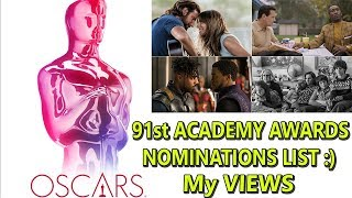 91st Academy Awards Nominations List Review In Detail #OSCARS I Again No Indian Film
