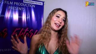 Sara Khan Exclusive Interview - New Movie Pyar Ektarfa First Look Launch
