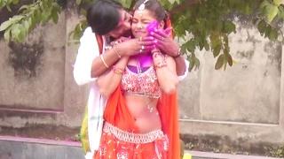 जीजा छू ले ले जोबनवा - Holi Me Dalem   Surdarshan Vyas   Bhojpuri Holi Song