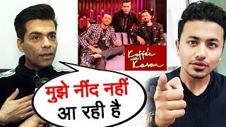 Karan Johar Finally REACTS To Hardik Pandya & KL Rahul BAN | Koffee With Karan Controversy
