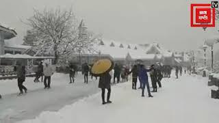Snowfall के बाद Shimla का नजारा #Live