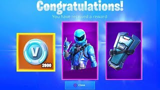 How to get the NEW HONOR GUARD SKIN with FREE V BUCKS in Fortnite