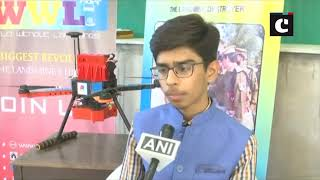 16-year-old boy from Ahmedabad develops drone which can destroy landmines without human risk
