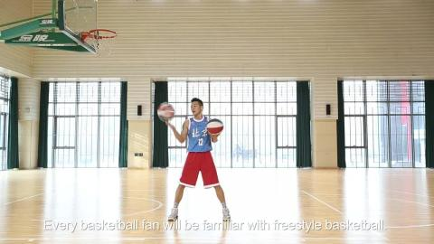 China's top freestyle basketball team