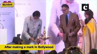 "Amitabh Bachchan unveils Boman Irani's production house ""Irani Movietone"""