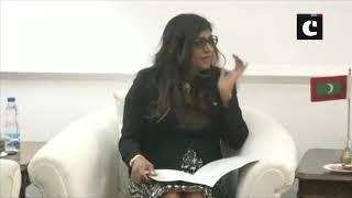 Nirmala Sitharaman meets her Maldivian counterpart